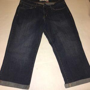Denizen cropped jeans sz 12 EUC